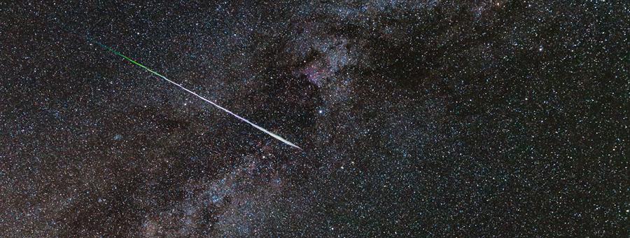 Astrofotokurs Perseiden Sternschnuppen